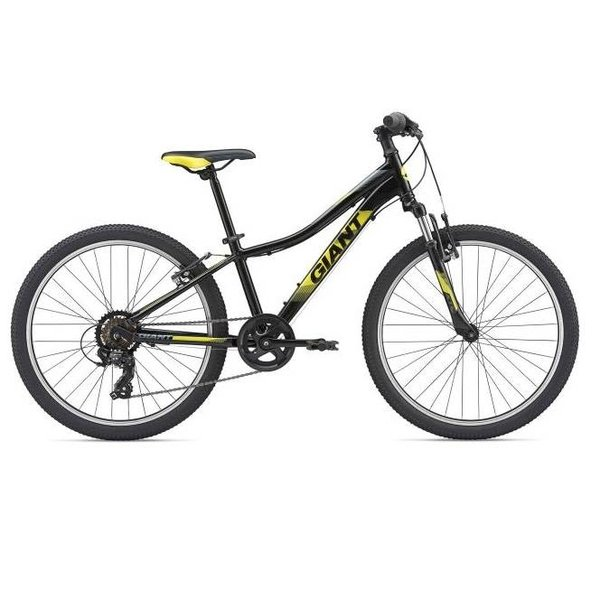 "Giant Giant XTC Jr 2 24 Boys 24"" (2019) Black/Neon Yellow/Charcoal"