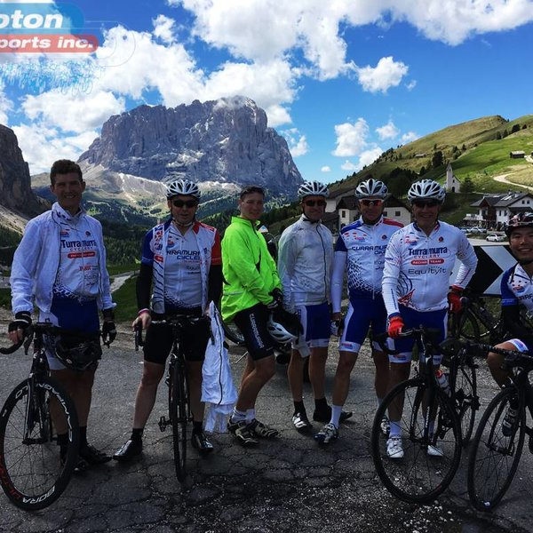 Peloton Grand Tours Our Trips - Sicily & The Dolomites