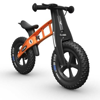 FirstBIKE FAT Cross Balance Bike w/Brake Orange