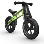 FirstBIKE FAT Cross Balance Bike with Brake Green