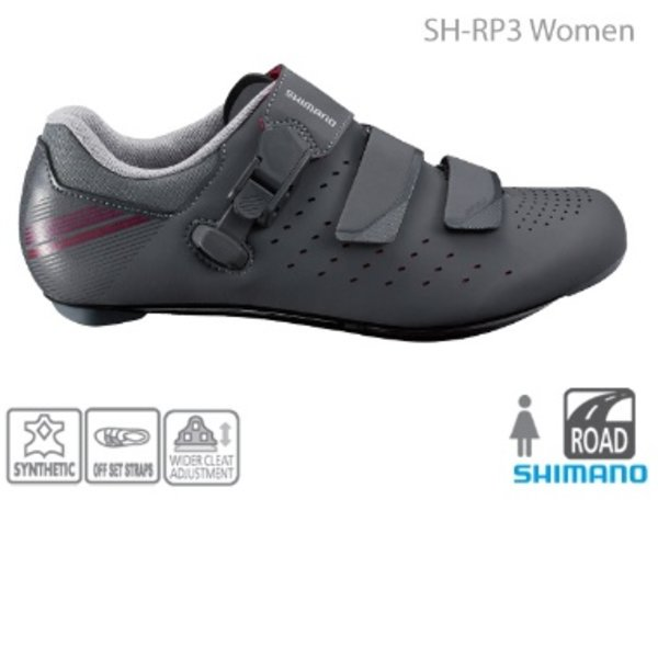 Shimano SHIMANO SH-RP301 WOMEN'S ROAD SHOES GRAY