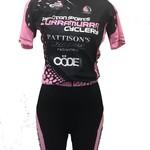 Peloton Sports Peloton Sports Ladies Jersey Pink/Black