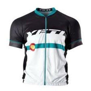 Yeti Jersey Ironton XC Colorado Flag Black