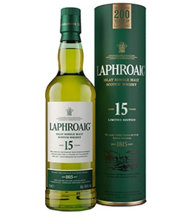 Laphroaig 15 yr old