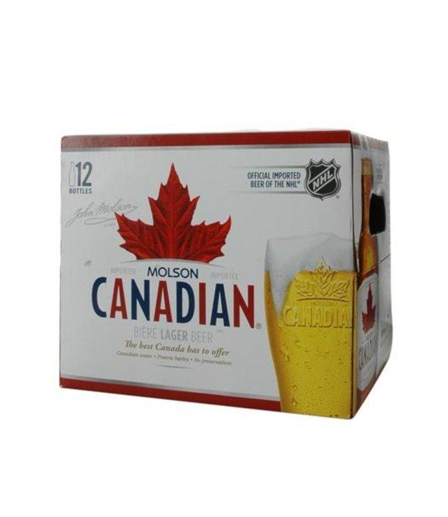 Molson Canadian - 12 Btl