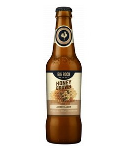 Big Rock Honey Brown Lager - Bottles
