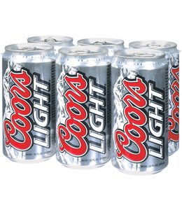 Coors Light - 6-Pack Cans