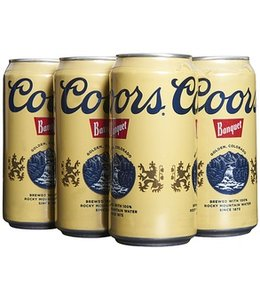 Coors Banquet - 6-Pack Cans