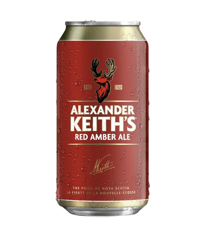 Alexander Keith's Amber- 6 Pak Cans