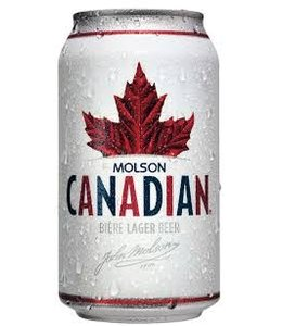 Molson Canadian - Reg Cans