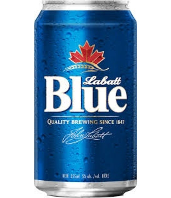 Labatt Blue - Reg Cans