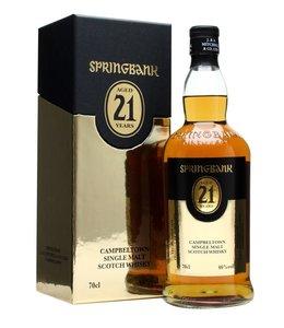 Springbank 21 yr old