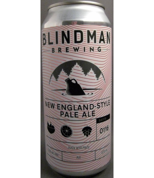 Blindman New England-Style Pale Ale - 500ml