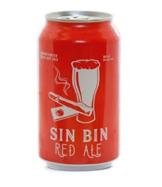 Medicine Hat Brewing Co. Sin Bin Red Ale - 6 Pak Cans