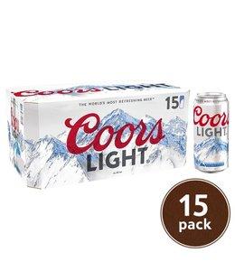 Coors Light - 15 Pak Cans