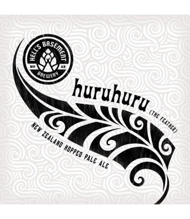 Hell's Basement HuruHuru Pale Ale - 6Pak Cans