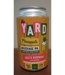 Hell's Basement the Yard Pineapple Milkshake IPA
