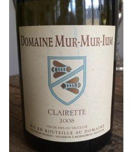 Clairette Mur-Mur-Ium Clairette Vaucluse