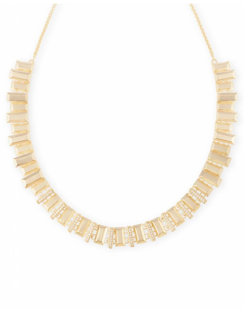Kendra Scott Kendra Scott Harper Choker Necklace in Gold