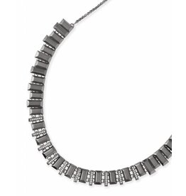 Kendra Scott Harper Choker Necklace in Hematite