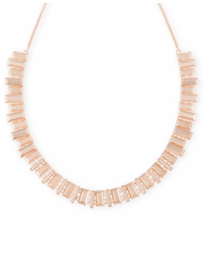 Kendra Scott Kendra Scott Harper Choker Necklace in Rose Gold