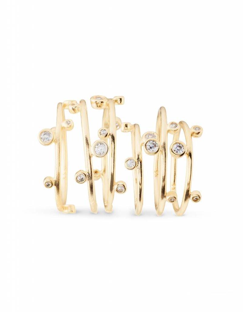 Kendra Scott Kendra Scott Alistar Gold Ring Set