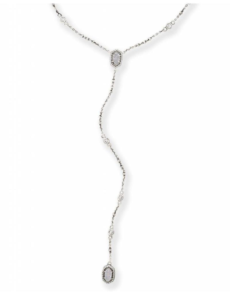 Kendra Scott Kendra Scott Claudia Antique Silver Necklace