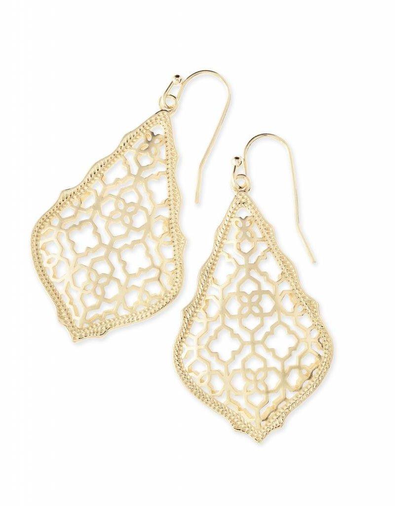 Kendra Scott Kendra Scott Addie Earrings in Gold Filigree