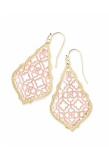 Kendra Scott Kendra Scott Addie Earrings in Rose Gold Filigree