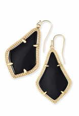 Kendra Scott Kendra Scott Alex Earrings in Black on Gold