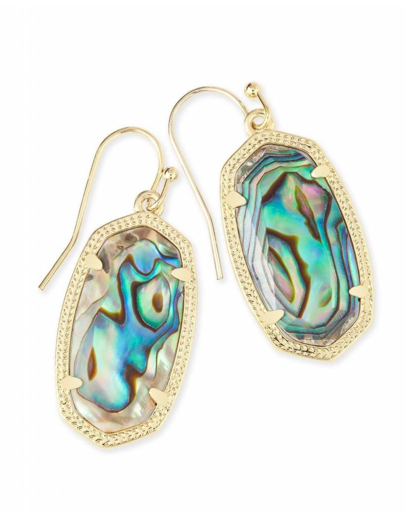 Kendra Scott Kendra Scott Dani Earrings in Abalone Shell