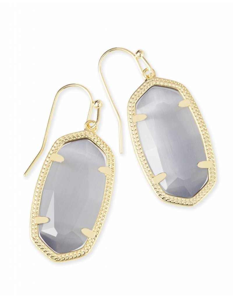 Kendra Scott Kendra Scott Dani Earrings in Slate on Gold