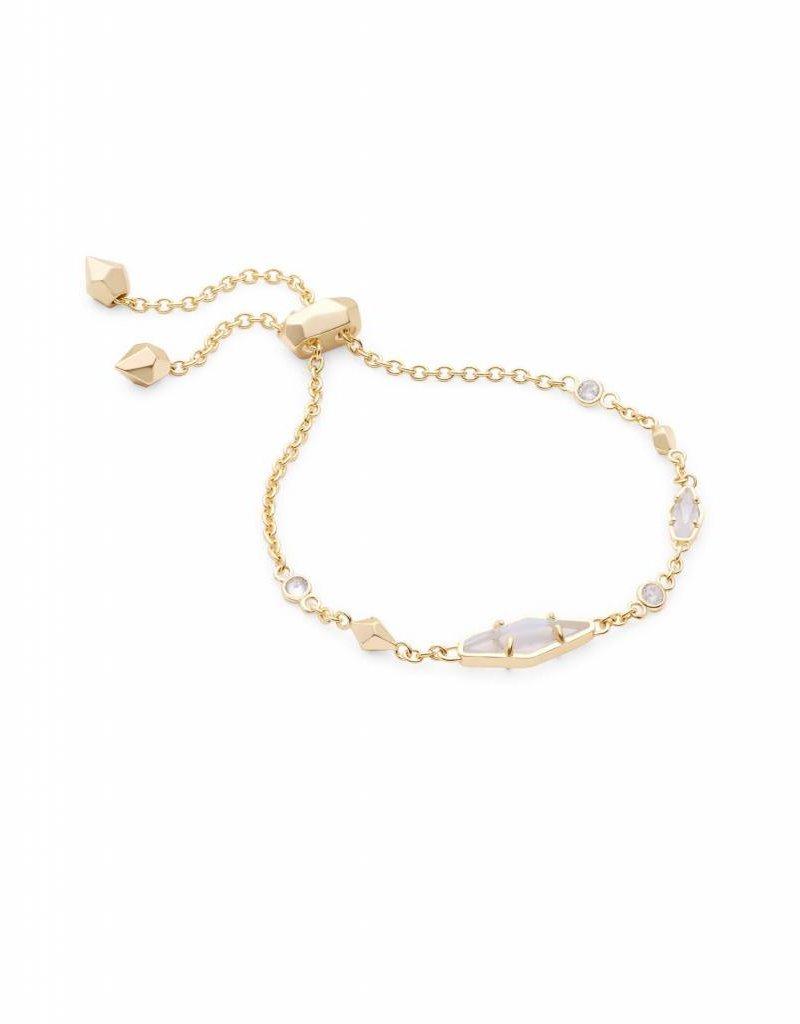 Kendra Scott Kendra Scott Deb Adjustable Bracelet in Gold