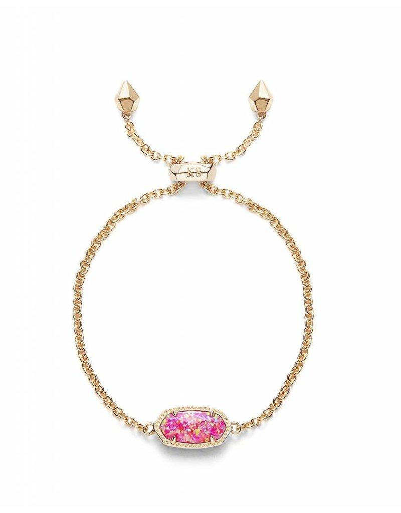 Kendra Scott Kendra Scott Elaina Adjustable Bracelet in Fuchsia Opal