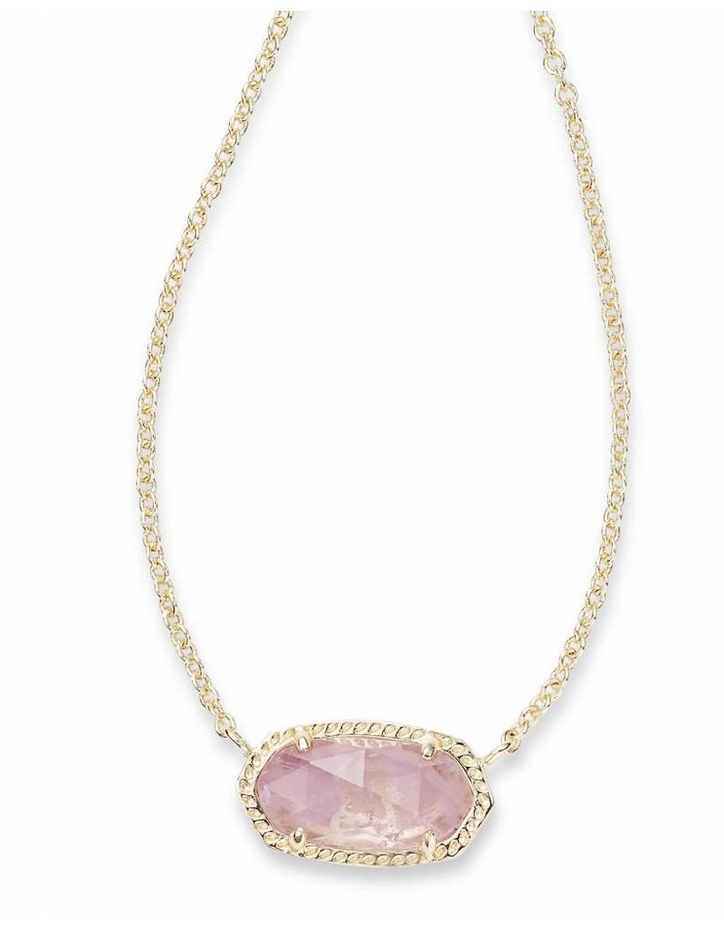 Kendra Scott Kendra Scott Elisa Necklace in Amethyst on Gold (Feb.)