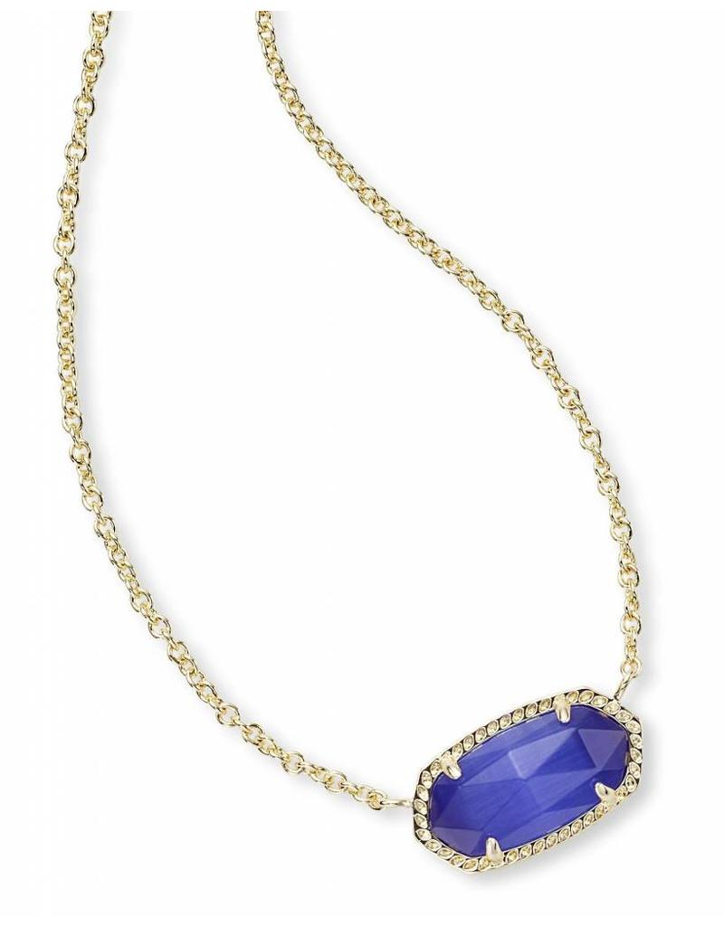 Kendra Scott Kendra Scott Elisa Necklace in Cobalt on Gold (Sep.)