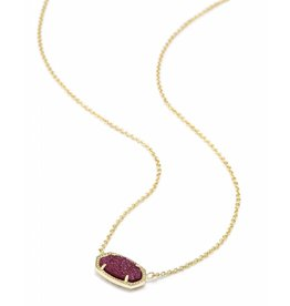 Kendra Scott Elisa Necklace in Fuchsia Drusy