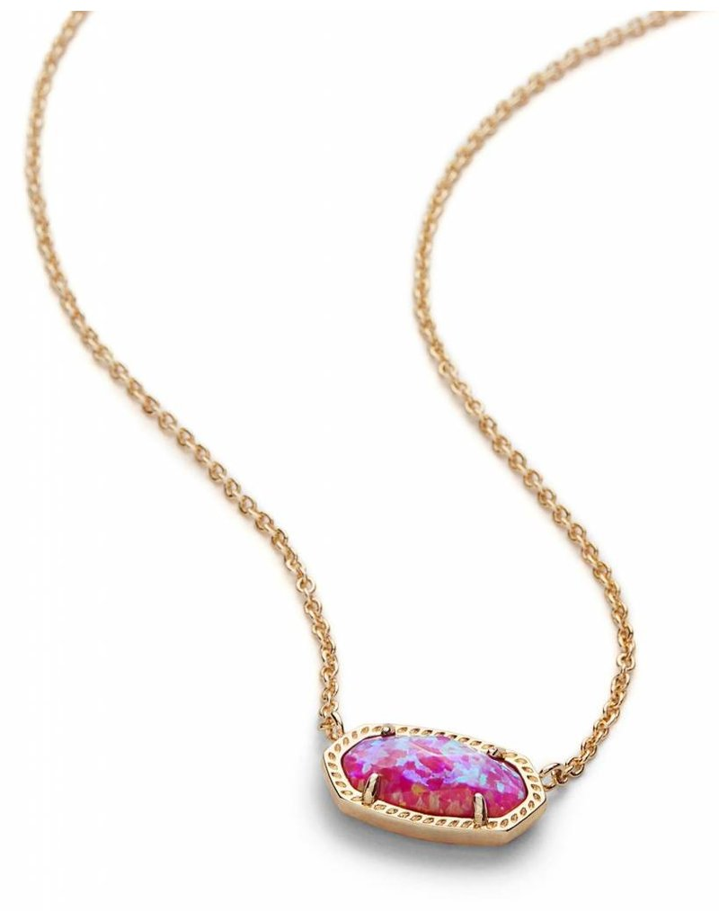 Kendra Scott Kendra Scott Elisa Necklace in Fuchsia Opal
