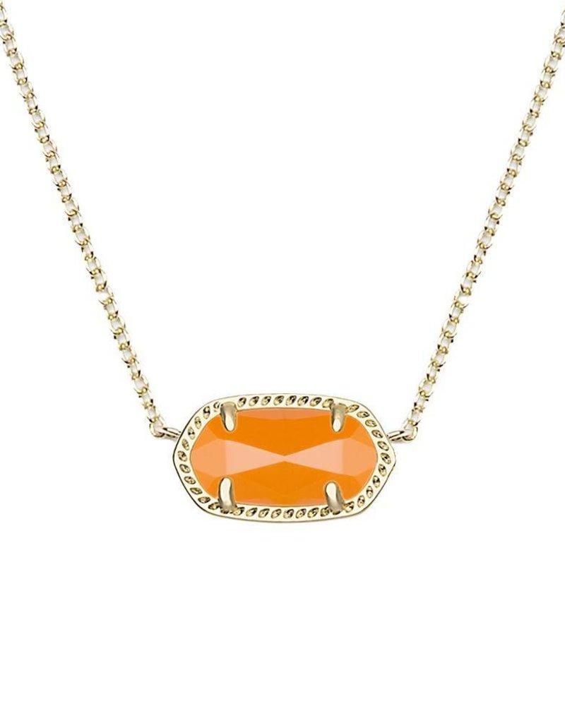 Kendra Scott Kendra Scott Elisa Necklace in Orange