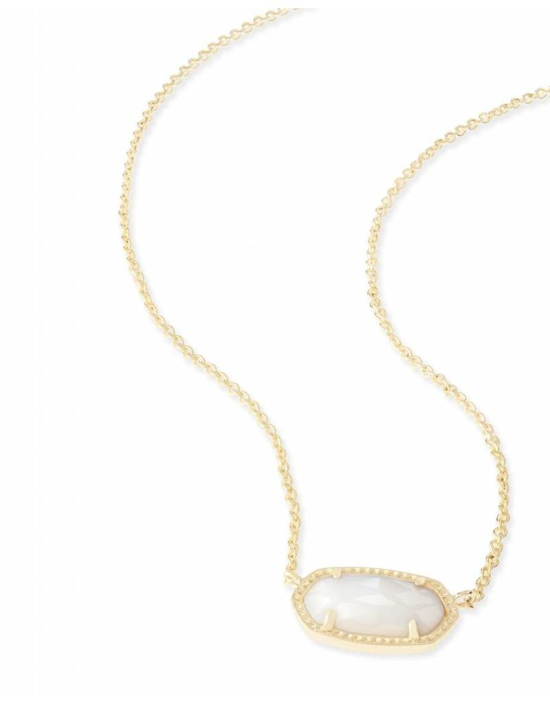 Kendra Scott Kendra Scott Elisa Necklace in White Pearl on Gold