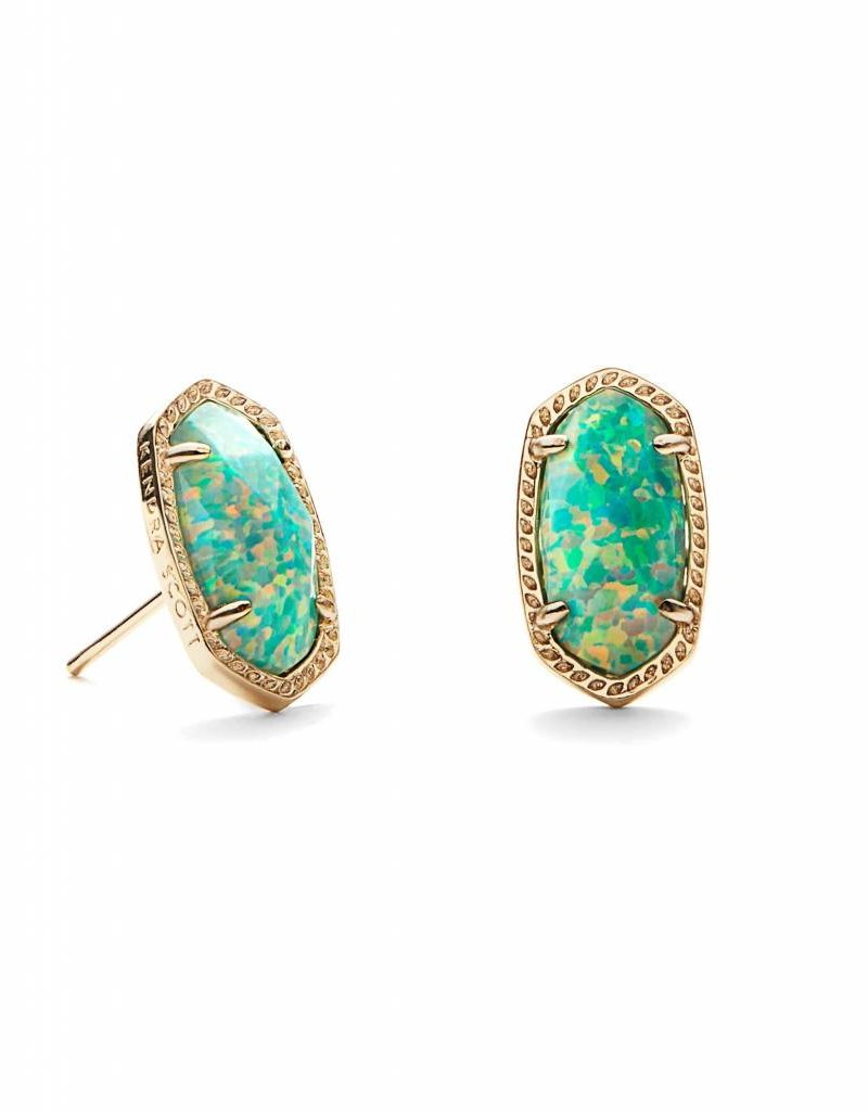 Kendra Scott Kendra Scott Ellie Stud Earrings in Aqua Opal