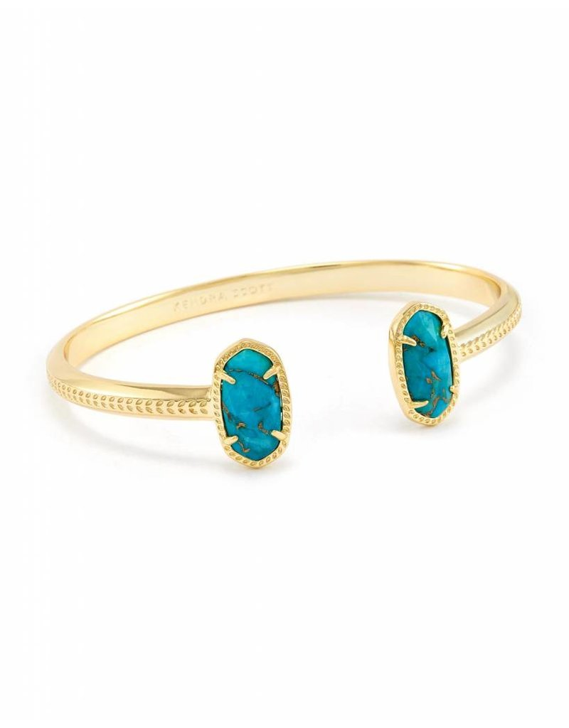 Kendra Scott Kendra Scott Elton Bracelet in Bronze Veined Turquoise