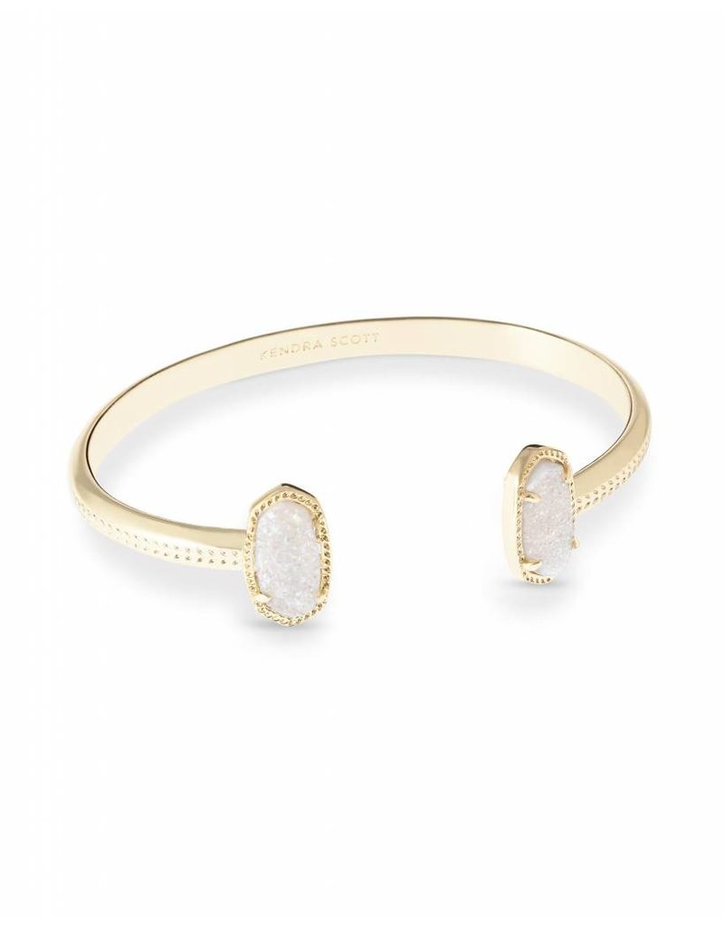 Kendra Scott Kendra Scott Elton Bracelet in Iridescent Drusy on Gold