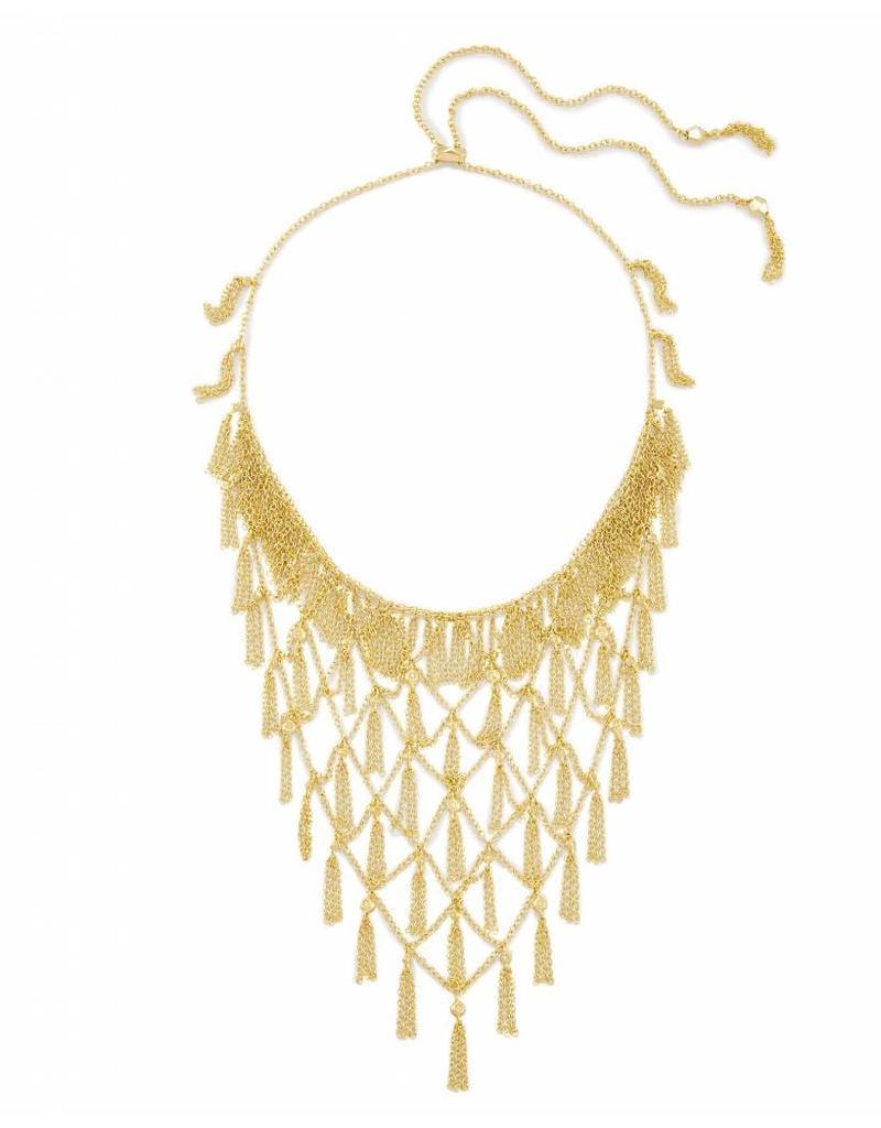 Kendra Scott Kendra Scott Georgina Statement Necklace in Gold