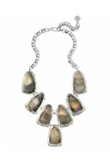 Kendra Scott Kendra Scott Harlow Statement Necklace in Suspended Black Pearl