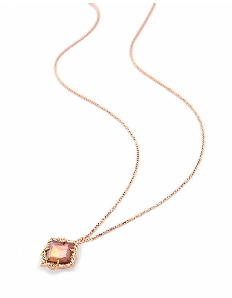 Kendra Scott Kendra Scott Kacey Pendant Necklace in Brown Pearl