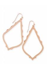 Kendra Scott Kendra Scott Sophee Earrings in Rose Gold