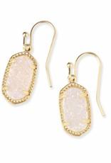 Kendra Scott Kendra Scott Lee Earrings in Iridescent Drusy on Gold
