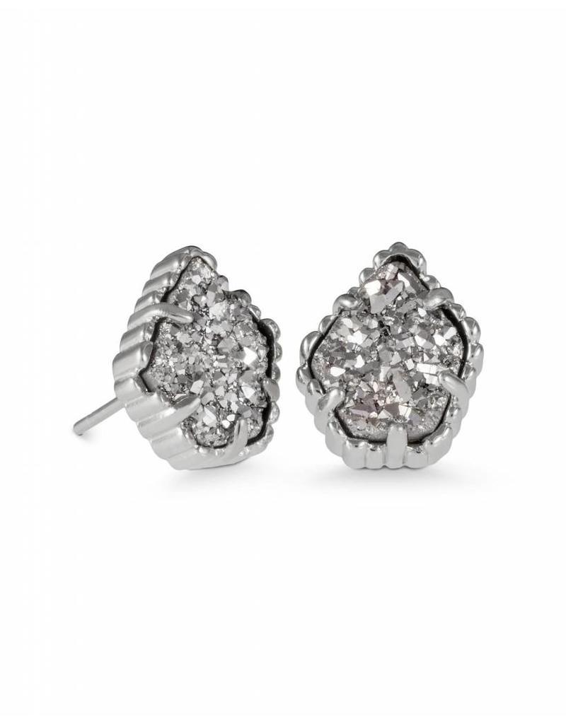 Kendra Scott Kendra Scott Tessa Studs in Platinum Drusy on Silver