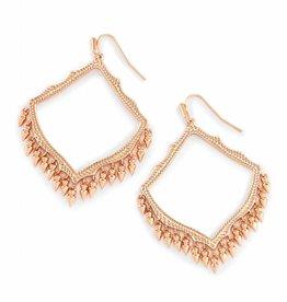 Kendra Scott Kendra Scott Lacy Drop Earrings in Rose Gold